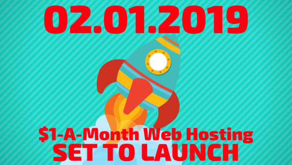 $1-A-Month Web Hosting - A Promotion Like None Other